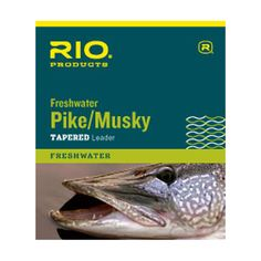 Rio Pike / Musky Tapered Leader : Fishwest