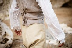 Victorian trousers, vest, and blouse