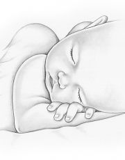 Baby drawing angel new Ideas Pencil Drawing Tutorials, Pencil Art Drawings, Art Drawings Sketches, Angel Drawing, Baby Drawing, Painting & Drawing, Drawing Drawing, Illustration Art Dessin, Baby Sketch
