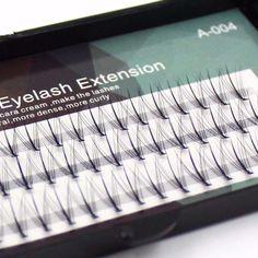 17346cd28bf Professional Middle Dense Fashion 3D Eyelashes 0,07mm Natural False Mink  Eyelash Extension Makeup Silk