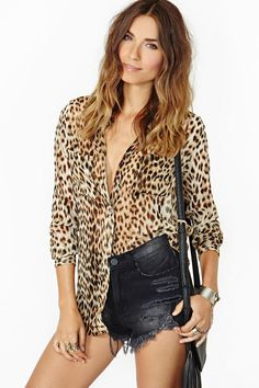 Hell Cat Blouse