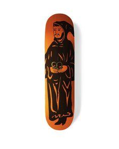 ///// NYS PRETZEL MONK DECK #skateboard #skate #deck