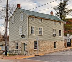 Downtown Washington, Missouri - Winery - Oldest surviving Wood frame building dating from 1846