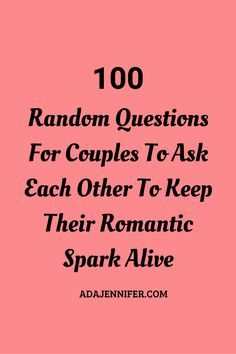 100 Random Questions For Couples To Ask Each Other To Keep Their Romantic Spark Alive - Pillow talk Couple Tag Questions, Romantic Questions For Couples, Question Games For Couples, Flirty Questions, Intimate Questions, Date Night Ideas For Married Couples, Questions To Ask Your Boyfriend, Fun Questions To Ask, Funny Questions