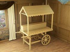 Sophie Victorian Candy Cart W0.9m x D1.8m