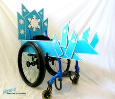 Ice Throne Costume Kit for Wheelchairs by byCassieMcLelland.  >>> See it. Believe it. Do it. Watch thousands of spinal cord injury videos at SPINALpedia.com