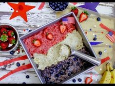 Vegan 4th of July Ice Cream Recipe