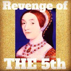 Katherine Howard via The Tudor Tutor Wives Of Henry Viii, King Henry Viii, Katherine Howard, Tudor Dynasty, Second Wife, Tudor History, Save The Queen, Anne Boleyn, Interesting History