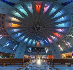 "Catholic Cathedral ""Saint Virgin Mary"", Iasi, Romania, photo by Ionut Caras"