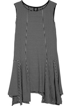 Anna Sui Striped jersey dress