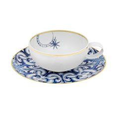 Teacup and Saucer - Transatlantica   Vista Alegre