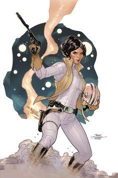 Princess Leia by Rachel and Terry Dodson *