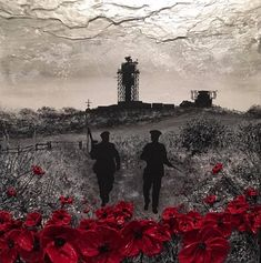 'Poppies For Peace' commemorates all those who served in The British Armed Forces and The Royal Ulster Constabulary during The Troubles in Northern Ireland - the longest continuous campaign in British military history. Military Art, Military History, Northern Ireland Troubles, Remembrance Day Poppy, Armistice Day, Military Pictures, The Best Films, Lest We Forget, Contemporary Paintings