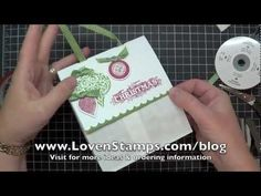 Stamping 101 With Meg, Last Minute Gift Bags · U201c