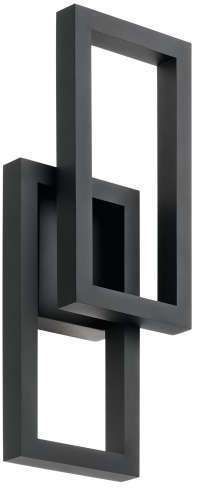 Kichler Rettangolo LED Outdoor Wall Sconce
