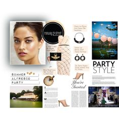 #R2SStyle Summer Style with Runway2Street by minojka on Polyvore featuring Elena Perseil, De Siena, C MPL T UNKN WN, Hissia, White Label, party, alfresco and runway2street