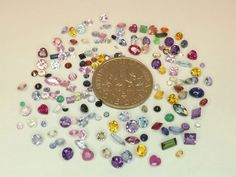 Sale  Mixed Melee Lot with Diamonds from scrap gold silver & vintage jewelry