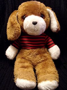 Well-Loved 80's Toys - Plush Puppy by falln_angel, via Flickr - Missing the jacket!