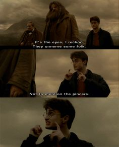 not to mention the pincers... hahaha gets me every time
