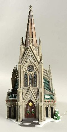 Christmas In The City Cathedral Of St Nicholas - Boxed by Department 56 | Replacements, Ltd.