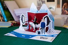 A Creative Photographer Promo in the Form of a Pop-Up Card