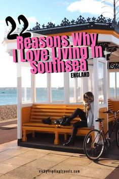 I bought a house in Southsea Portsmouth a year ago and I love it here! Here's why from Southsea's beaches to the coffee shops to the restaurants. Everything you need to know about if you're ever thinking of moving here. Travel Advice, Travel Guides, Travel Tips, Travel Destinations, Travel Stuff, Travel Europe, Portsmouth England, European Destination, Beautiful Places To Visit