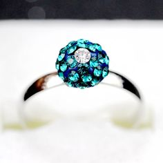Find More Rings Information about 8 Colors Green Stone Pave Topaz Lovers Ring 2015 with Ball Women Anel Feminino Bague Femme Jewelry Colored Cute Rings BL007,High Quality ring bob,China ring trinket Suppliers, Cheap ring gold from ULOVE Fashion Jewelry on Aliexpress.com