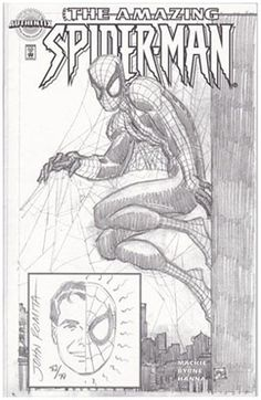 Rare Amazing Spider-Man Authentix #1 signed and sketched. Click the pic and find out more...