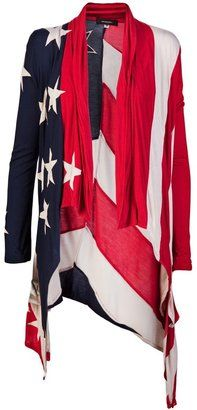 ShopStyle: UNCONDITIONAL American flag cardigan