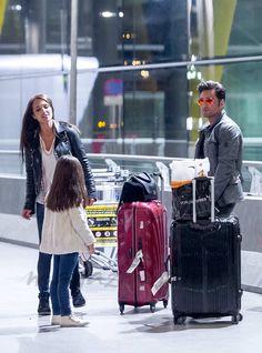 David Bustamante, Paula Echevarría y su hija Daniela