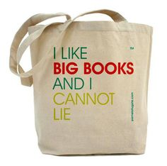 I Like Big Books And I Cannot Lie  Canvas by PamelaFugateDesigns,