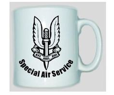 Tasse SAS - Special Air Service / mehr Infos auf: www.Guntia-Militaria-Shop.de