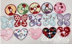 Fun Girl Gtube Pads by Adorabelly Design on Etsy