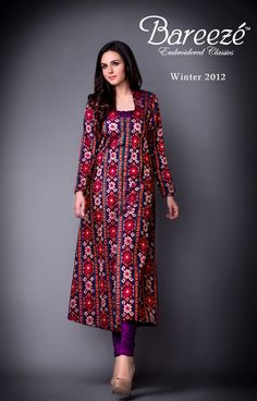 Bareeze New Stylish Winter Arrivals 2012-13 For Women (5)