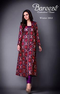 Bareeze New Stylish Winter Arrivals 2012-13 For Women (5)