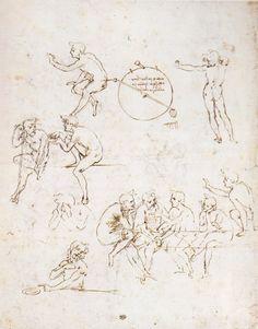 Figure Studies Leonardo da Vinci