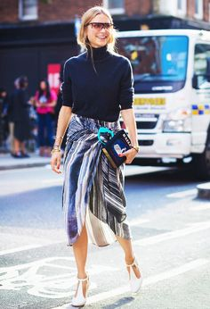 50 Street Style Outfits to Bookmark For 2016 via @WhoWhatWearUK