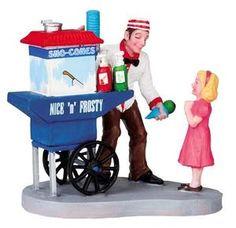 Lemax Christmas Figurine: Snocone Stand