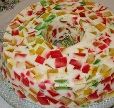 Gelatina com Leite Condensado - http://www.receitasja.com/gelatina-leite-condensado/ Mais