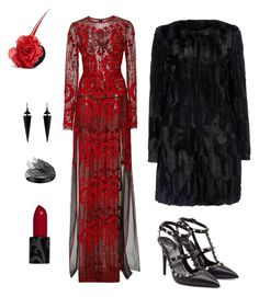 """""""AHS"""" by tara2481 on Polyvore featuring Naeem Khan, Valentino, AS29, Piers Atkinson, Oasis and Wallis"""