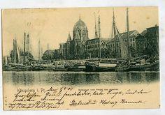 Ak Königsberg Ostpreußen, Synagoge, gelaufen nach Eydtkuhnen 1903 | eBay