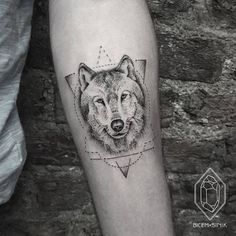 Wolf Tattoo by bicemsinik