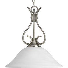 One-light pendant.