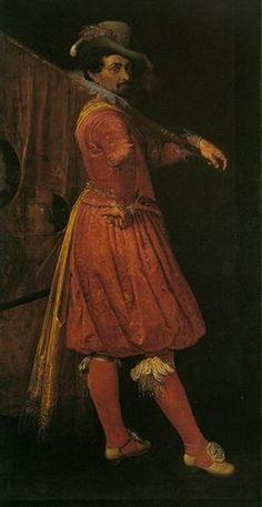 Standard-Bearer of the Civil Guard by Evert van der Maes, 1615