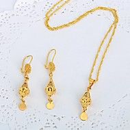 WesternRain 2015 New Wholesale 24k Gold Lovely Pendant Chain Necklace&Earrings Fashion Jewelry Sets. Get superb discounts up to 80% Off at Light in the Box using coupon and Promo Codes.