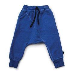 Lisin Children Kids Boys Girls Zipper Shark Teeth Harem Pants Trousers
