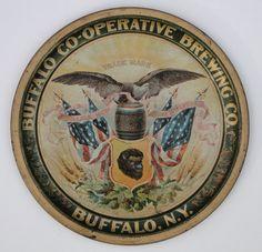 BUFFALO CO-OPERATIVE BEER TRAY BUFFALO CO-OPERATIVE BREWING CO - BUFFALO, NY