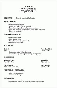 resumes are the most important document during the beginning of ...