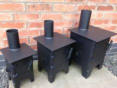 Square micro burner / caravan / vw camper van/ gas bottle woodburner/ boat stove                                                                                                                                                                                 More