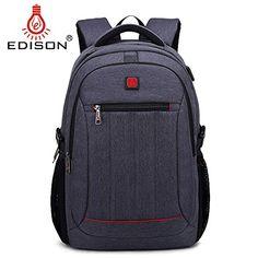 436027ed1060 Edison Laptop Bag Business Multi-function Spinal Seismic ... https